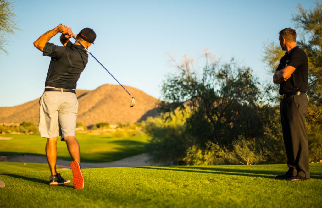 Driving Range at McDowell Mountain